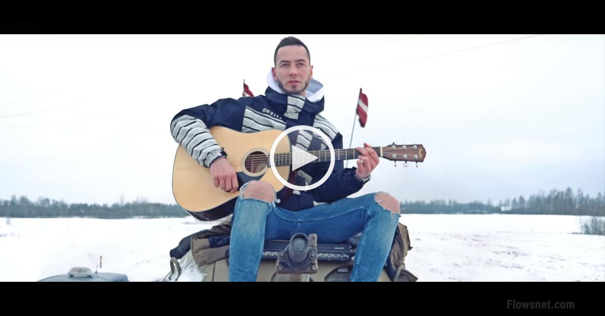 Video: Pašmāju reperis Reiks ar bruņutransportieri mēģina savaldzināt lietuviešu skaistuli Beatrisi