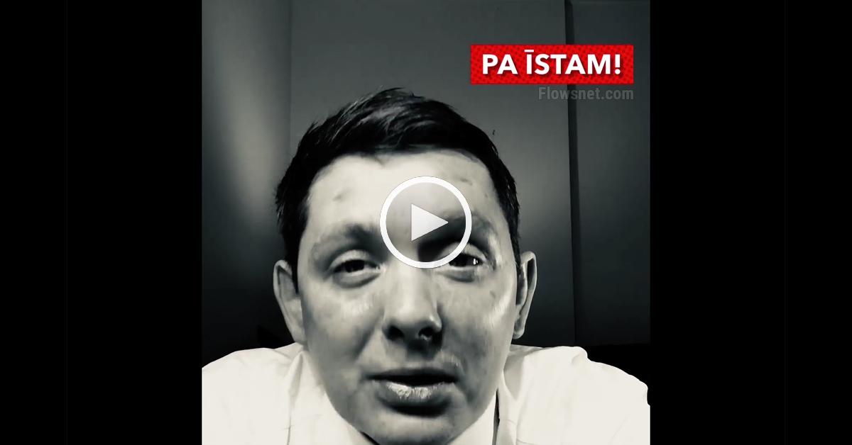 VĒRTS NOSKATĪTIES (VIDEO): Artusa Kaimiņa spēcīgā uzruna Jaunajā 2018. gadā!