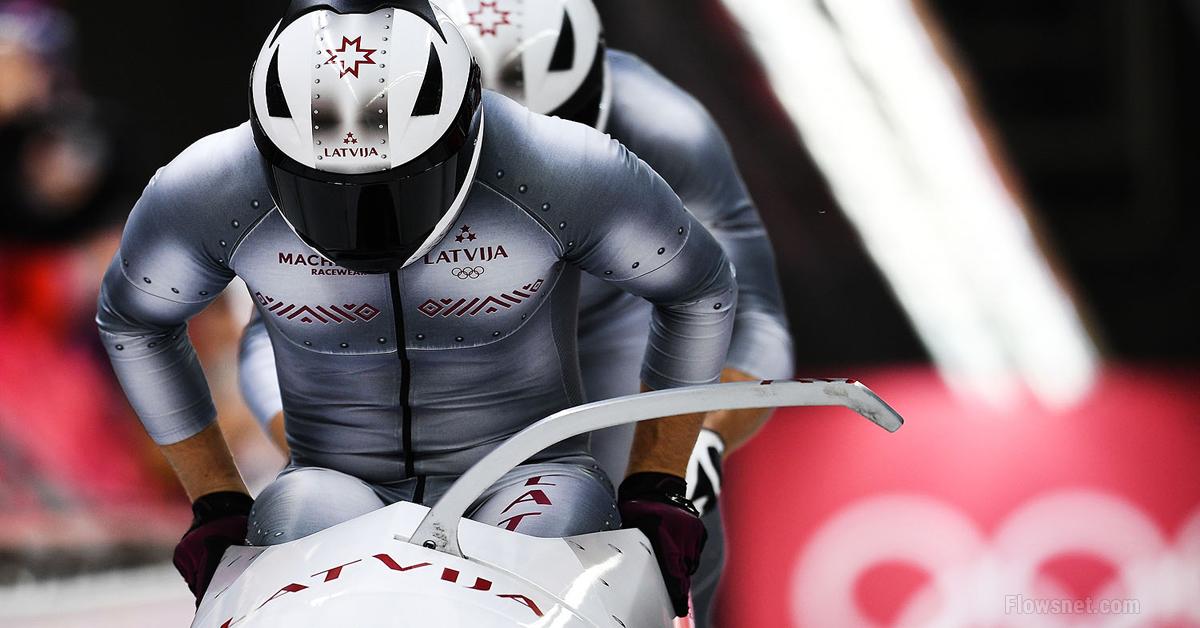 Melbārdis un Strenga Latvijas bobsleja divnieku ekipāžas olimpiskajās spēlēs izcīna olimpisko spēļu bronzas medaļu