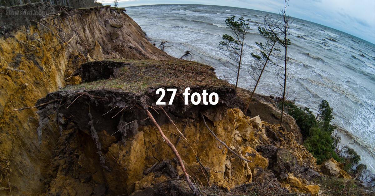 27 FOTO: Jūrkalnes piekrastē paveras ļoti bēdīgs skats. Fotogrāfiju autors: skatoties asaras birst