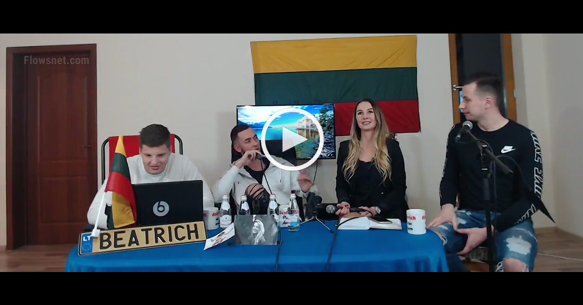 Repera Reika tiešraide Youtube | FAMOUS LATVIAN RAPPIST LIVE
