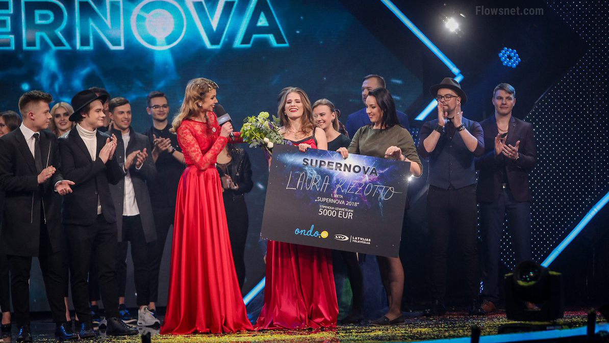 Foto/Video: Šogad Latviju Eirovīzijā pārstāvēs Laura Rizzotto